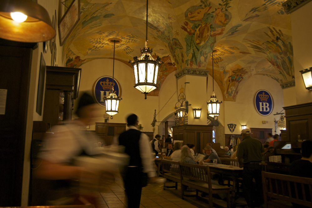 Interior de la Hofbräuhaus