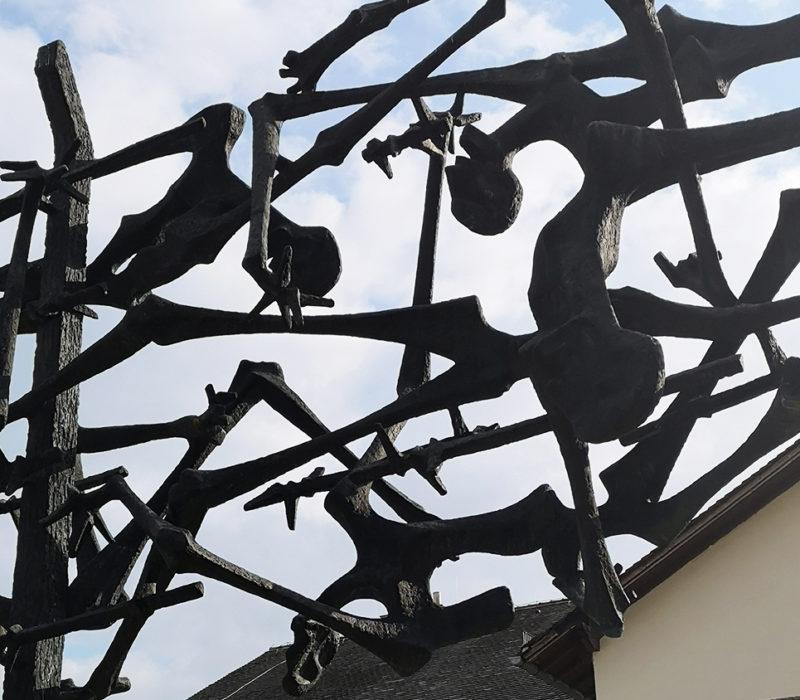 Dachau, campo concentración, memorial