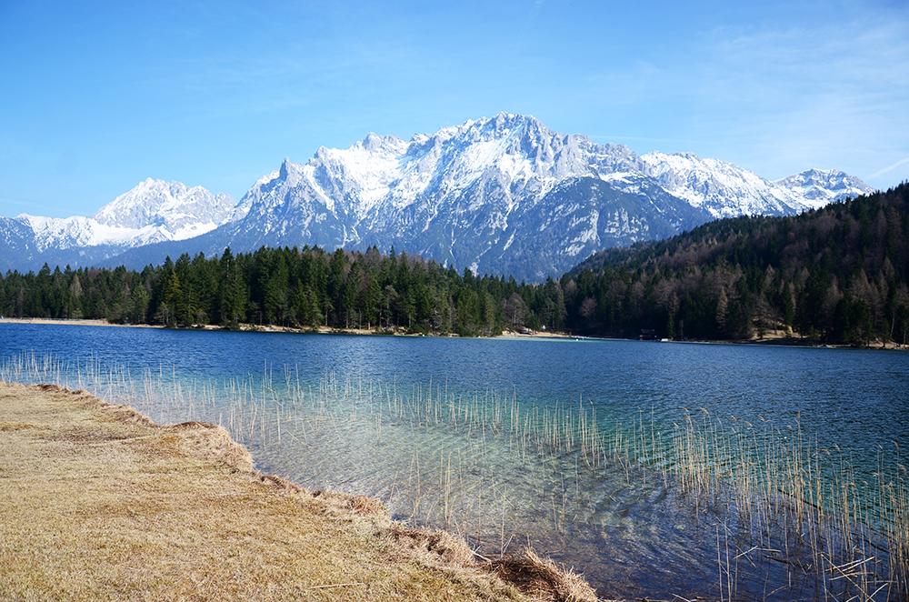 Lautersee, con el Karwendel al fondo. /@jordi_orts