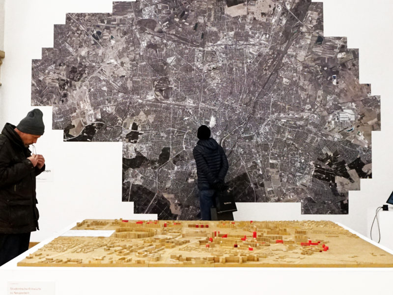 Múnich exposición municipal urbanismo