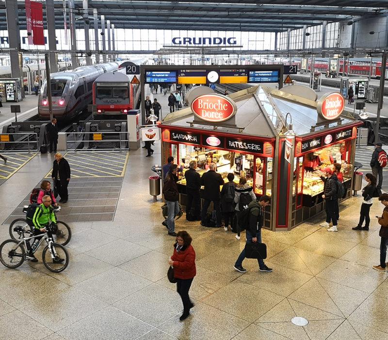 bayern ticket, hauptbahnhof, estación central trenes