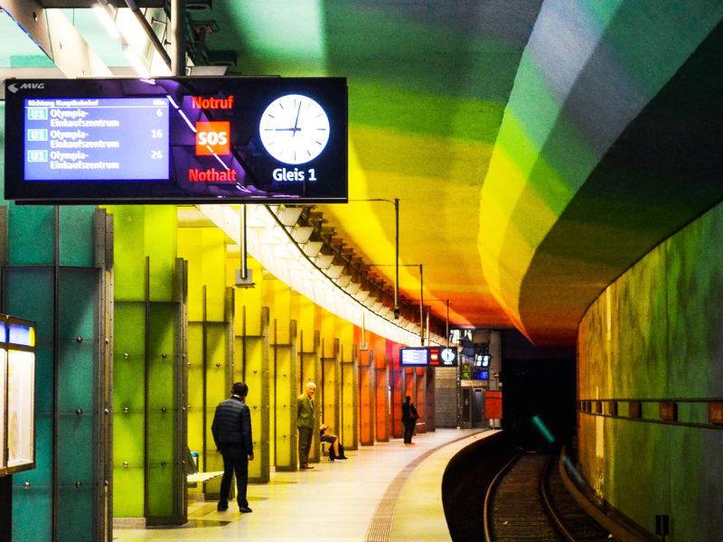 u-Bahn, metro múnich, candidplatz