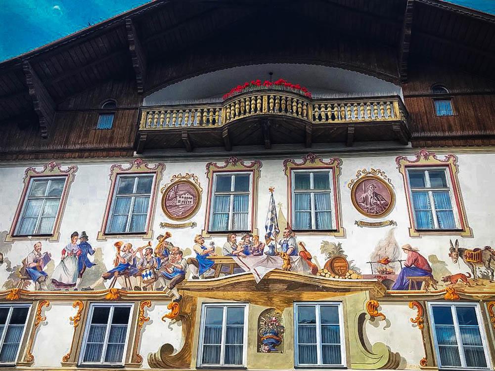 Casa de nacimiento de Lodwig Thoma en Oberammergau