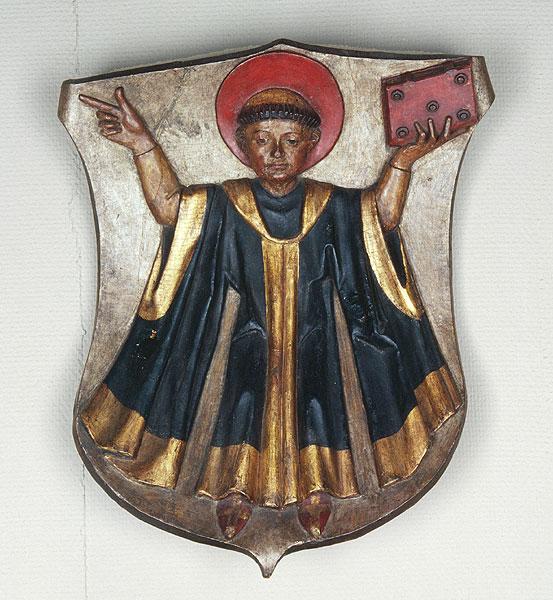 Desde el siglo XIII, un monje representa el escudo de Múnich. /WEB (basada en trabajo de Erasmo Grasser, SXV)