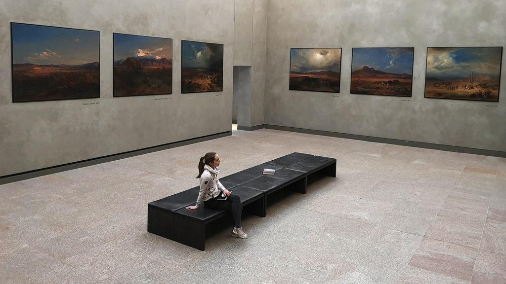 Paisajes griegos de Carl Rotmann en la Neue Pinakothek