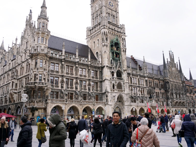 cifras de turismo, marienplatz, turistas marienplatz