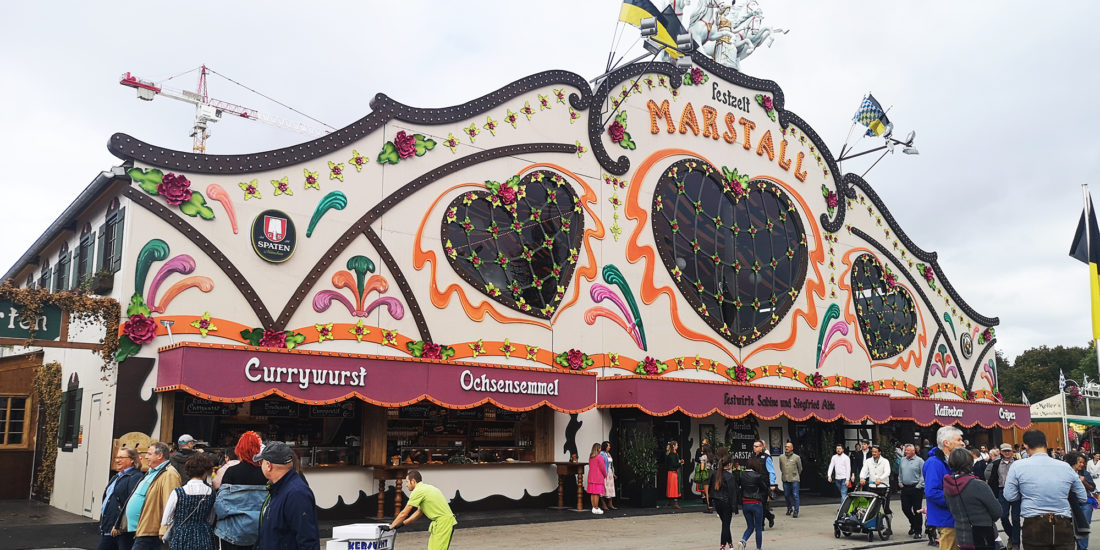 marstall, carpas oktoberfest, munich