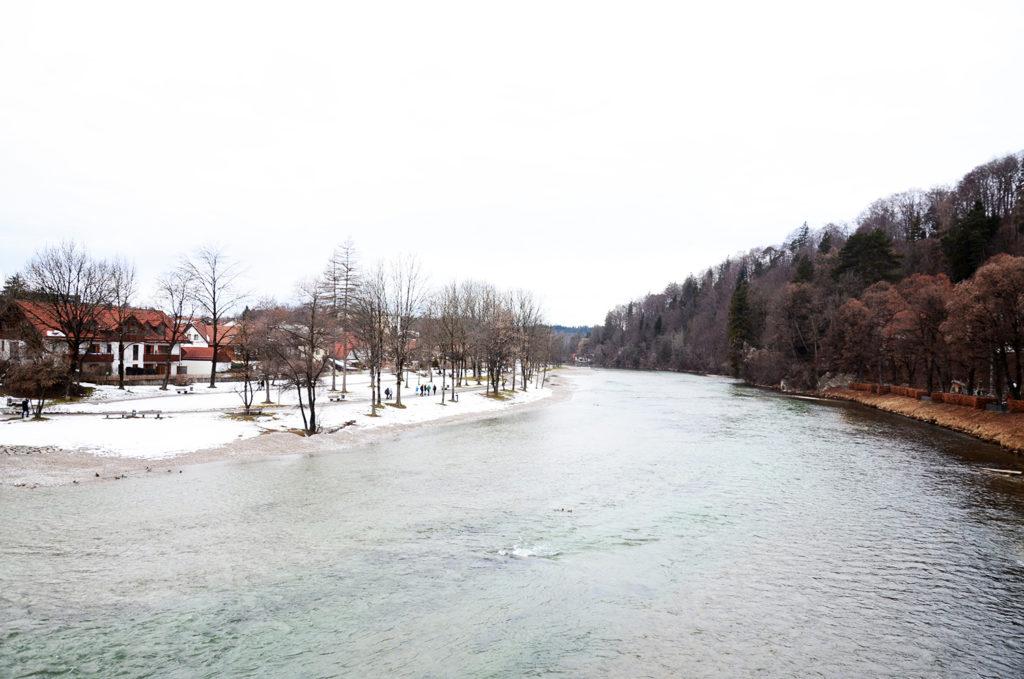 El río Isar a su paso por Bad Tölz. /@jordi_orts