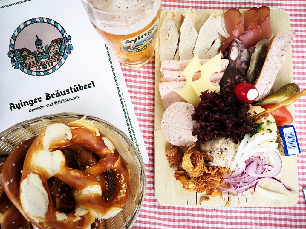 brotzeitbrettl, glosario gastronomía bávara