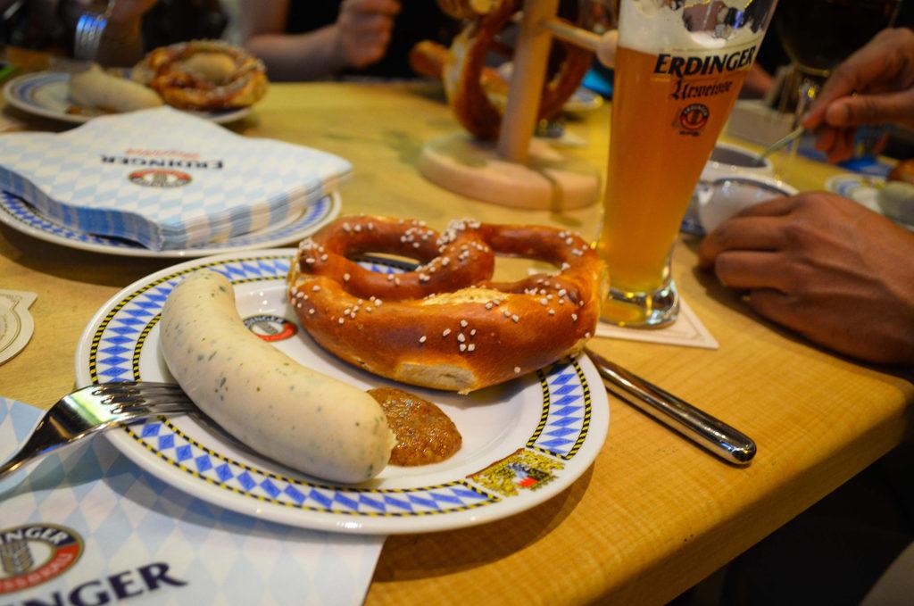 weisswurts, glosario gastronomía bávara