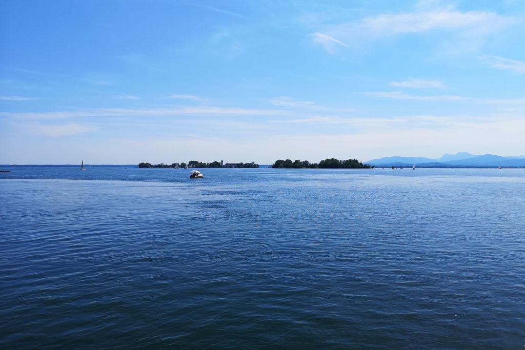 Chiemsee lagos bañarse Múnich