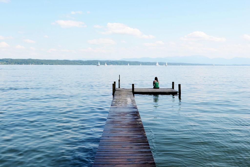 lagos formidables bañarse baviera
