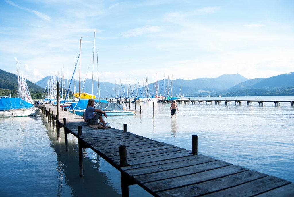 Tegernsee diez lagos bañarse baviera
