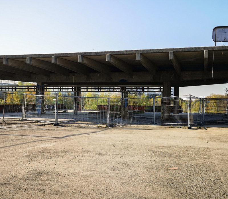Estación fantasma Olympaistadion
