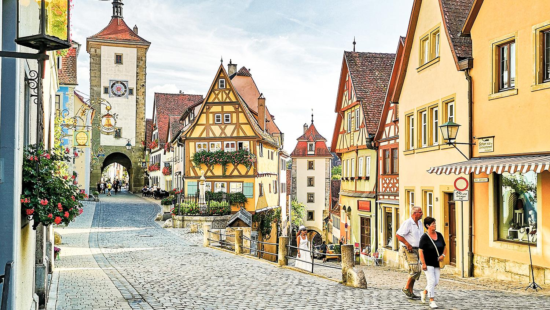 Rothenburg ob der Tauber, pueblos imprescindibles de Baviera